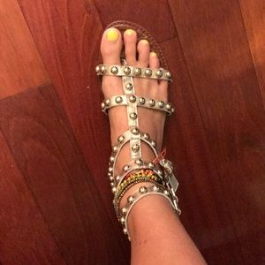 f7b0ab09956e Sam Edelman Shoes - Sam Edelman Elisa Studded Gladiator Sandal